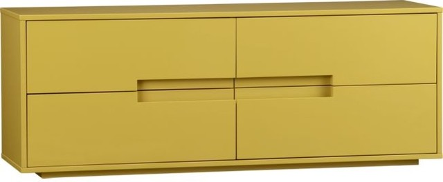 Latitude Grellow Low Dresser modern-dressers-chests-and-bedroom-armoires