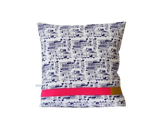 Dutch Cushion - Navy -