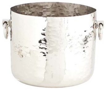 Arteriors Grace Hammered Metal Container modern-tabletop