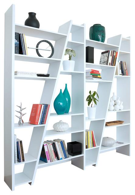 Delta Composition 004, Pure White contemporary-storage-cabinets
