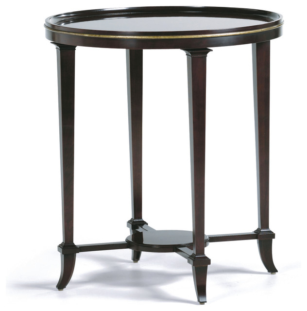 Baker Coffee Table Round: Palmyre Lamp Table