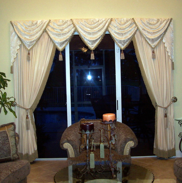 Traditional window treatment traditional