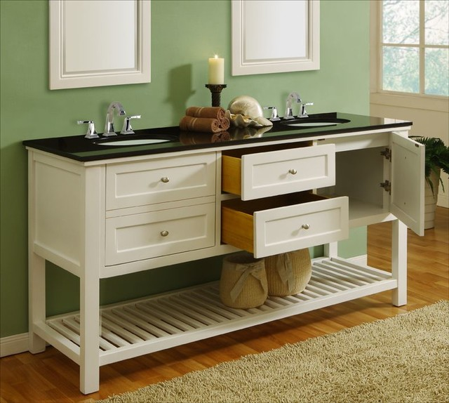 Bathroom Double Sink Consoles Interior Decorating