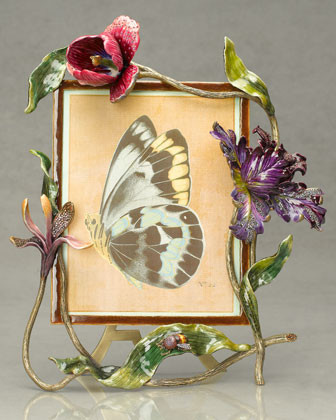 Jay Strongwater Anarosa Frame, 8 x 10 traditional-frames