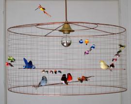 Half The Great Aviary Chandelier eclectic-chandeliers