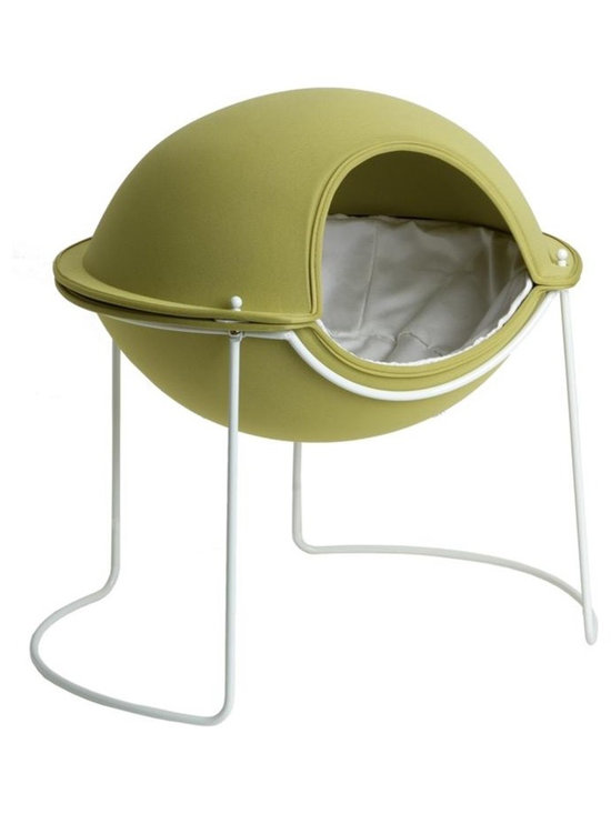 Pod Bed in Spring Bud Green -