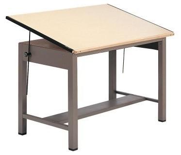 Modern Drafting Table Mid Century Rietveld Steel