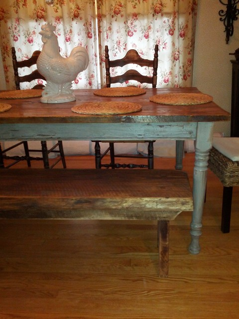 ... Plank Dining Table moreover Wood Plank Farmhouse Table together with