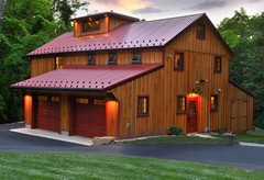 Spring Creek Design - Sustainable Barn - Sustainable Building, Renovation and Cr