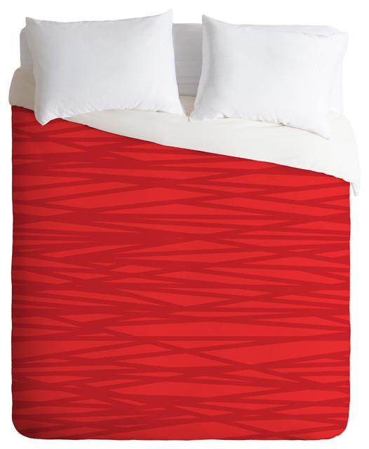 Khristian A Howell Rendezvous 9 Duvet Cover modern-duvet-covers-and-duvet-sets