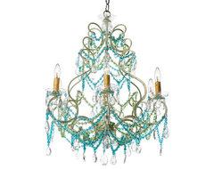 Beach Florentine Chandelier eclectic-chandeliers