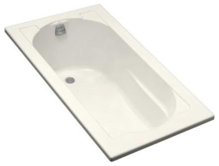 KOHLER K-1184-7 Devonshire Drop-In Bath in Black traditional-bathtubs