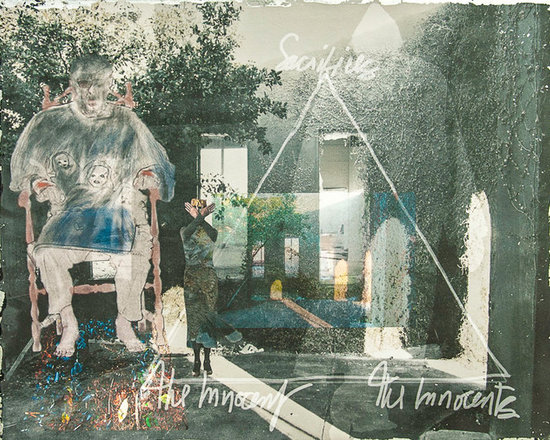 The Innocents - This photomontage/mixed media image contemplates innocence.