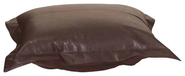 Avanti Pecan Puff Ottoman Cushion contemporary-footstools-and-ottomans