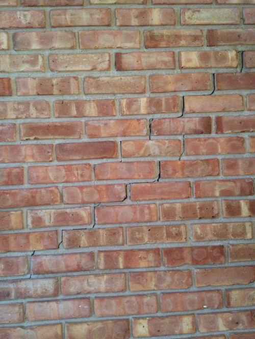 Should I Be Worried About Cracks In Interior Brick Wall