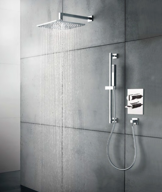 Opus Thermostatic Valve With Two Way Diverter Modern