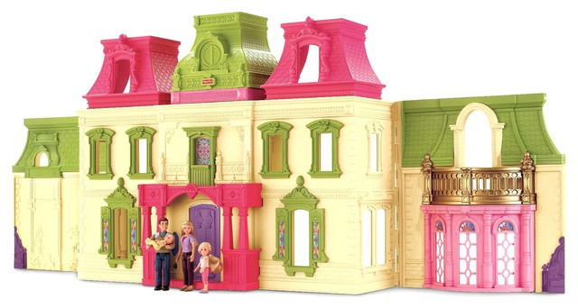 Fisher-Price Loving Family Dream Dollhouse - Contemporary - Kids Toys And Games - by mygofer
