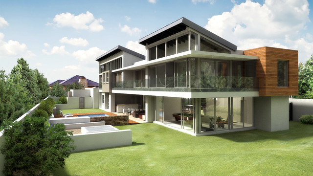 House 11 contemporary-rendering