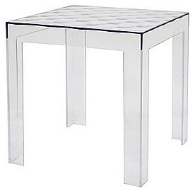 Parq Clear Acrylic Modern End Table modern-side-tables-and-end-tables