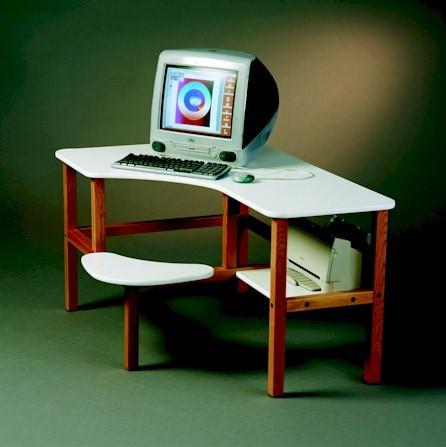 Grade School Kids Computer Desk Contemporary Kids