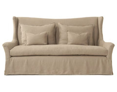 Charlotte Wing Sofa by Verellen traditional-sofas