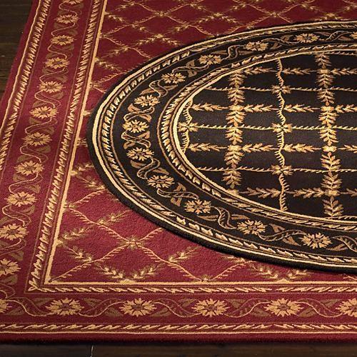 Sidney Wool Area Rugs traditional-rugs