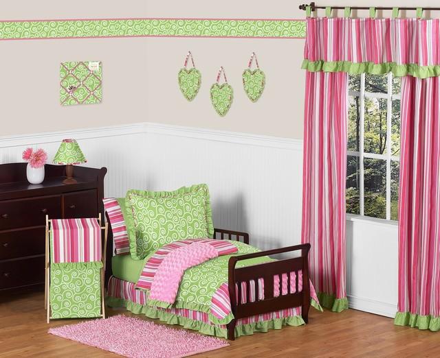 Olivia Toddler Bedding Set (5 Piece) contemporary-kids-bedding
