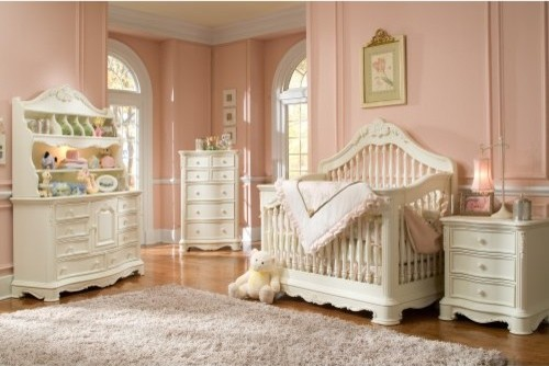 Creations Baby Venezia Crib Collection traditional-cribs