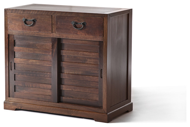 Shinto cabinet small dark walnut craftsman furniture Craftsman furniture
