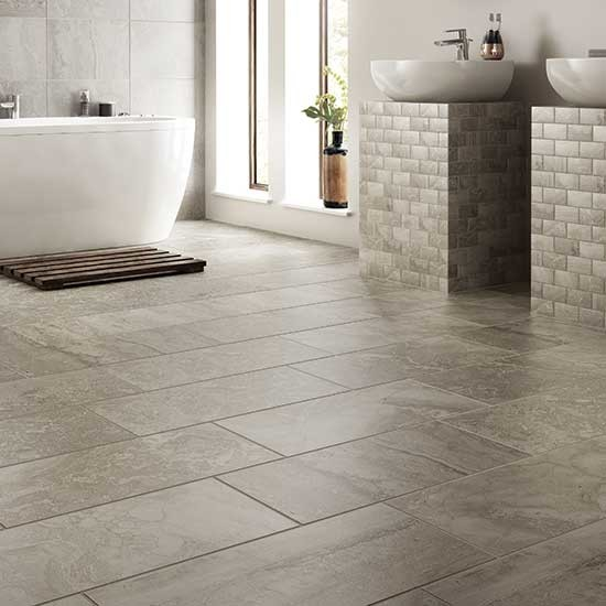Bathroom Floor Amp Pedestal Tile Other Metro By Dal Tile
