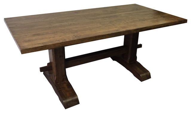 Trestle Farmhouse Table Farmhouse Dining Tables by Ezekiel & Stearns