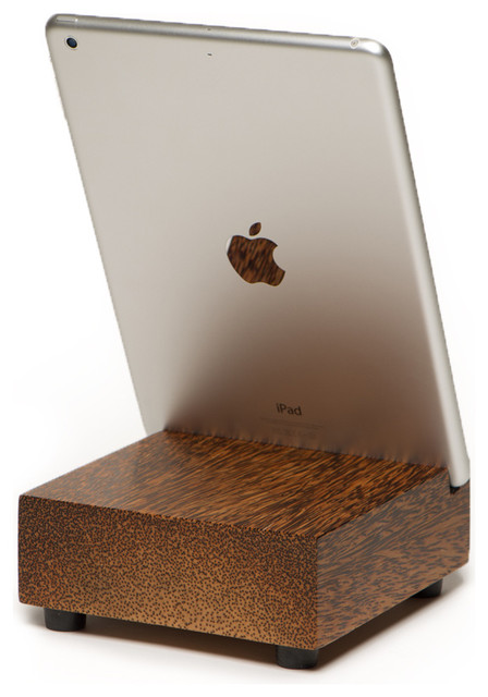 iPad Wood Block Air Stand - Modern - Home Office Accessories - by WoodWorks RD