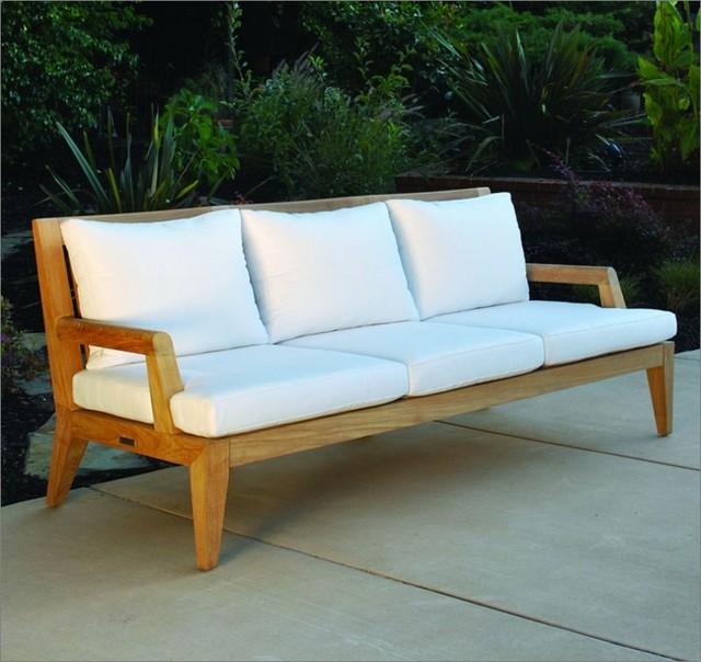 Kingsley Bate Mendocino Deep Seating Sofa Patio