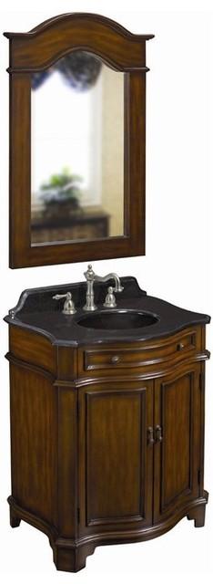 Belle Foret Model BF80054R Single Basin Vanity bathroom-vanities-and-sink-consoles