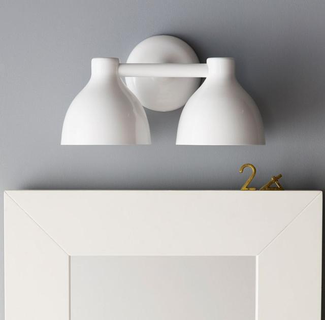 Contour Double Sconce contemporary-bathroom-vanity-lighting