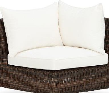 Torrey Sectional Corner Chair Replacement Cushion Set