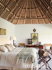 Framed Textile - Africa Interior Design - House Beautiful