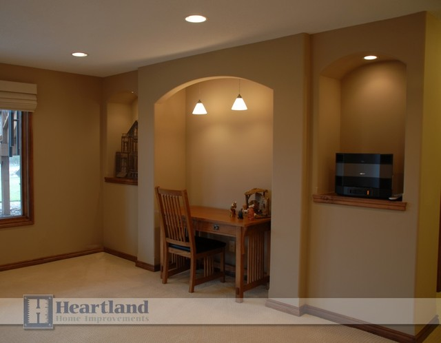 Other projects by Heartland Home Imporvements traditional-basement