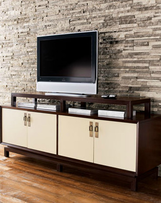Vanguard Entertainment Console contemporary-media-storage