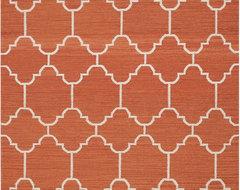 Arabesque Saffron Rugs modern-rugs