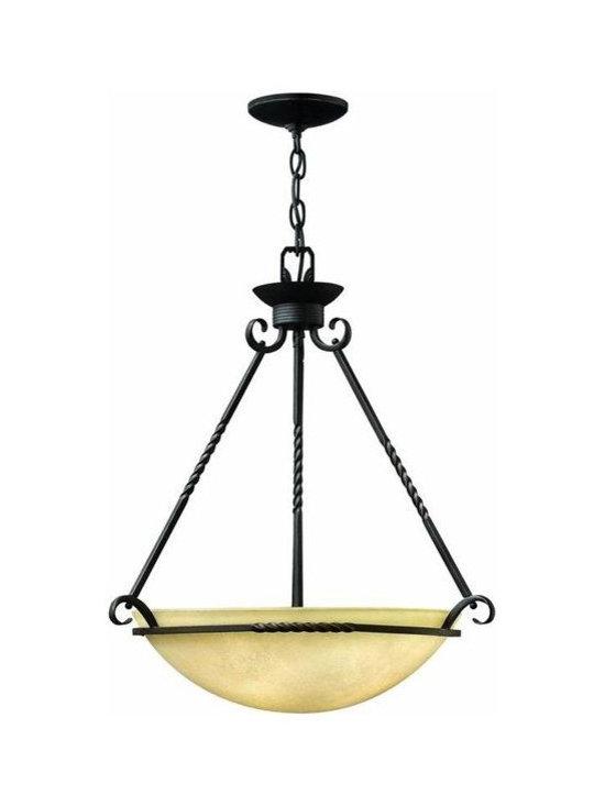 Hinkley Lighting 4314OL Pendant 4 Light Foyer Casa Collection -
