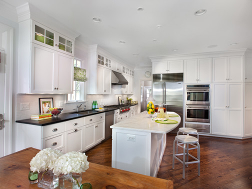 A New House Design traditional-kitchen