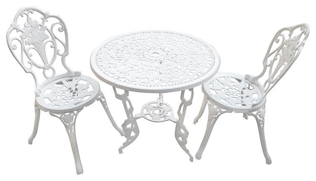 Surprising White Bistro Table Set Ideas - Best Image Engine ...