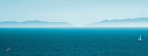 Island by Ben and Raisa Gertsberg - canvas art, art print, giclee beach-style-artwork