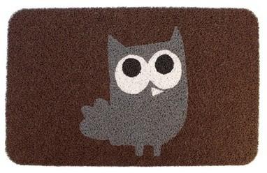 KIKKERLAND Owl Doormat contemporary-doormats