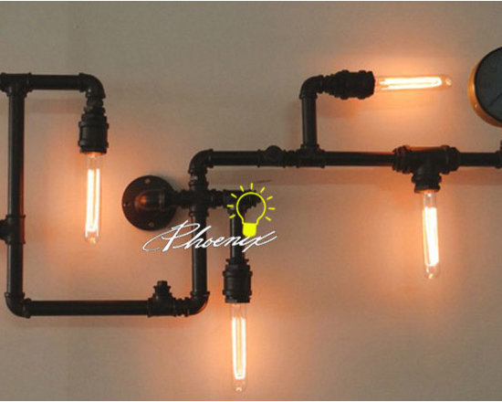 Antique Steam And Edison Bulbs Wall Sconce and lighting - Antique Steam And Edison Bulbs Wall Sconce and lighting