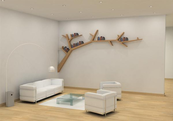 Etagere Murale Bois Interiors