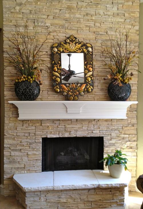 Faux Stone Fireplace Eldorado Stone Stacked Stone