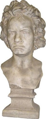 Beethoven in Plaster by Burke Decor traditional-artwork