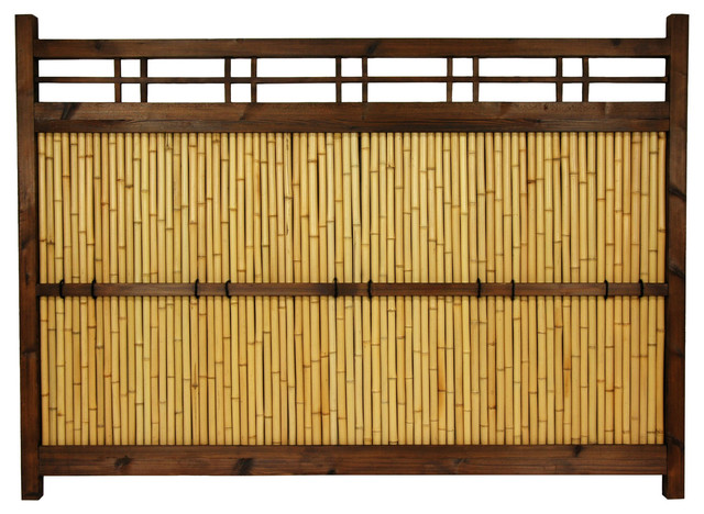 4 Ft X 5 1 2 Ft Japanese Bamboo Kumo Fence